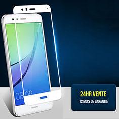 Film Protecteur d'Ecran Verre Trempe Integrale F04 pour Huawei Honor 8 Lite Blanc