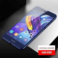 Film Protecteur d'Ecran Verre Trempe Integrale F04 pour Huawei Honor V9 Play Bleu