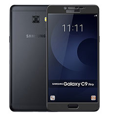 Film Protecteur d'Ecran Verre Trempe Integrale F04 pour Samsung Galaxy C9 Pro C9000 Noir