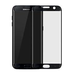 Film Protecteur d'Ecran Verre Trempe Integrale F04 pour Samsung Galaxy S7 Edge G935F Noir
