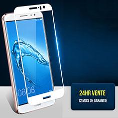 Film Protecteur d'Ecran Verre Trempe Integrale F06 pour Huawei G9 Plus Blanc