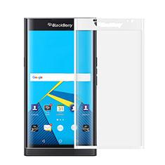 Film Protecteur d'Ecran Verre Trempe Integrale pour Blackberry Priv Blanc