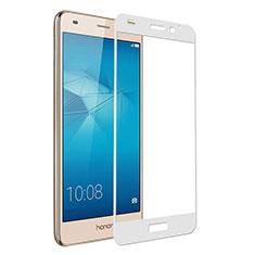 Film Protecteur d'Ecran Verre Trempe Integrale pour Huawei Honor 5C Blanc