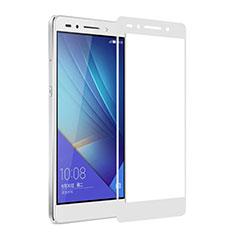 Film Protecteur d'Ecran Verre Trempe Integrale pour Huawei Honor 7 Dual SIM Blanc