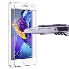 Film Protecteur d'Ecran Verre Trempe Integrale pour Huawei Y5 III Y5 3 Blanc