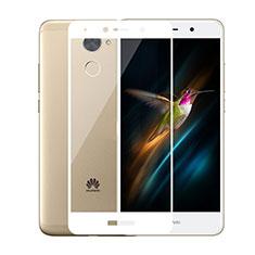 Film Protecteur d'Ecran Verre Trempe Integrale pour Huawei Y7 Prime Blanc