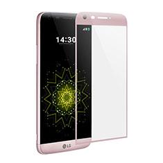 Film Protecteur d'Ecran Verre Trempe Integrale pour LG G5 Rose