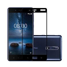 Film Protecteur d'Ecran Verre Trempe Integrale pour Nokia 8 Noir