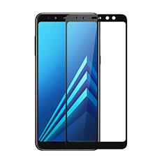 Film Protecteur d'Ecran Verre Trempe Integrale pour Samsung Galaxy A8 (2018) Duos A530F Noir