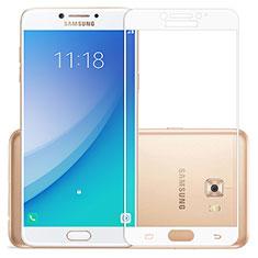 Film Protecteur d'Ecran Verre Trempe Integrale pour Samsung Galaxy C7 Pro C7010 Blanc