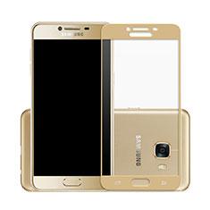 Film Protecteur d'Ecran Verre Trempe Integrale pour Samsung Galaxy C7 SM-C7000 Or