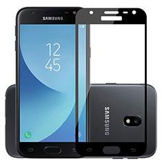 Film Protecteur d'Ecran Verre Trempe Integrale pour Samsung Galaxy J3 Pro (2017) Noir