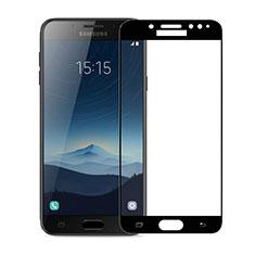 Film Protecteur d'Ecran Verre Trempe Integrale pour Samsung Galaxy J7 Plus Noir