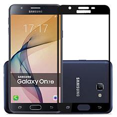 Film Protecteur d'Ecran Verre Trempe Integrale pour Samsung Galaxy J7 Prime Noir