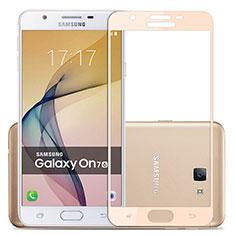 Film Protecteur d'Ecran Verre Trempe Integrale pour Samsung Galaxy J7 Prime Or