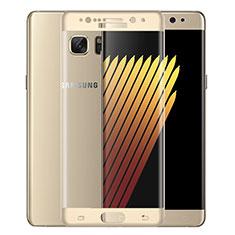 Film Protecteur d'Ecran Verre Trempe Integrale pour Samsung Galaxy Note 7 Or