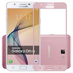 Film Protecteur d'Ecran Verre Trempe Integrale pour Samsung Galaxy On7 (2016) G6100 Rose