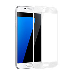 Film Protecteur d'Ecran Verre Trempe Integrale pour Samsung Galaxy S6 Duos SM-G920F G9200 Blanc