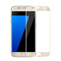Film Protecteur d'Ecran Verre Trempe Integrale pour Samsung Galaxy S6 Duos SM-G920F G9200 Or