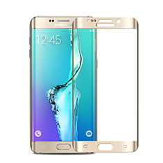 Film Protecteur d'Ecran Verre Trempe Integrale pour Samsung Galaxy S6 Edge+ Plus SM-G928F Or
