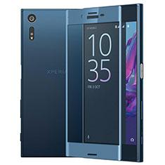 Film Protecteur d'Ecran Verre Trempe Integrale pour Sony Xperia XZs Bleu