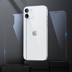 Film Protection Protecteur d'Ecran Avant et Arriere Verre Trempe pour Apple iPhone 12 Mini Clair