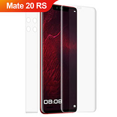 Film Protection Protecteur d'Ecran Avant et Arriere Verre Trempe pour Huawei Mate 20 RS Clair