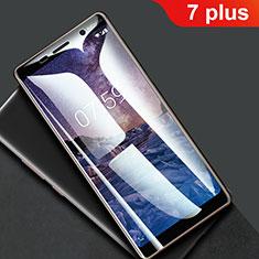 Film Protection Protecteur d'Ecran Integrale F01 pour Nokia 7 Plus Clair