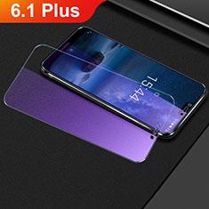 Film Protection Protecteur d'Ecran Verre Trempe Anti-Lumiere Bleue B01 pour Nokia 6.1 Plus Clair