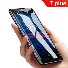 Film Protection Protecteur d'Ecran Verre Trempe Anti-Lumiere Bleue B01 pour Nokia 7 Plus Clair