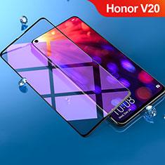 Film Protection Protecteur d'Ecran Verre Trempe Integrale Anti-Lumiere Bleue F02 pour Huawei Honor View 20 Noir