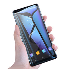 Film Protection Protecteur d'Ecran Verre Trempe Integrale Anti-Lumiere Bleue F02 pour Samsung Galaxy Note 9 Blanc