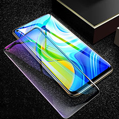 Film Protection Protecteur d'Ecran Verre Trempe Integrale Anti-Lumiere Bleue F02 pour Xiaomi Redmi Note 9 Noir