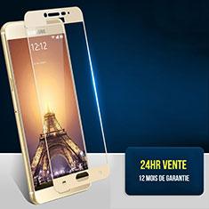 Film Protection Protecteur d'Ecran Verre Trempe Integrale Anti-Lumiere Bleue F06 pour Samsung Galaxy C7 SM-C7000 Or