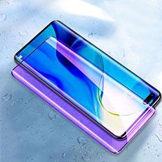 Film Protection Protecteur d'Ecran Verre Trempe Integrale Anti-Lumiere Bleue pour Huawei Honor 30 Pro+ Plus Noir