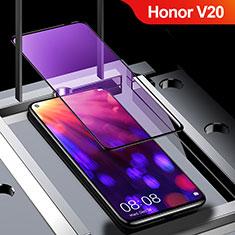 Film Protection Protecteur d'Ecran Verre Trempe Integrale Anti-Lumiere Bleue pour Huawei Honor View 20 Noir