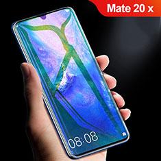 Film Protection Protecteur d'Ecran Verre Trempe Integrale Anti-Lumiere Bleue pour Huawei Mate 20 X Noir