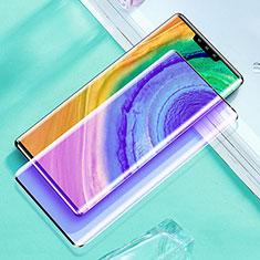 Film Protection Protecteur d'Ecran Verre Trempe Integrale Anti-Lumiere Bleue pour Huawei Mate 30 Pro 5G Noir
