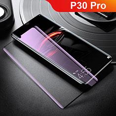 Film Protection Protecteur d'Ecran Verre Trempe Integrale Anti-Lumiere Bleue pour Huawei P30 Pro New Edition Blanc
