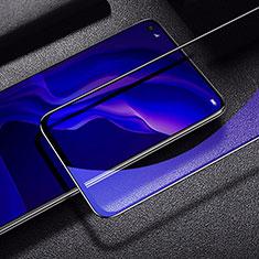 Film Protection Protecteur d'Ecran Verre Trempe Integrale Anti-Lumiere Bleue pour Huawei P40 Lite Noir