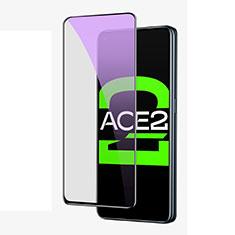 Film Protection Protecteur d'Ecran Verre Trempe Integrale Anti-Lumiere Bleue pour Oppo Ace2 Noir