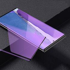 Film Protection Protecteur d'Ecran Verre Trempe Integrale Anti-Lumiere Bleue pour Samsung Galaxy Note 20 Ultra 5G Noir