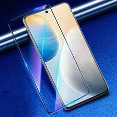 Film Protection Protecteur d'Ecran Verre Trempe Integrale Anti-Lumiere Bleue pour Vivo X60 5G Noir