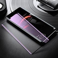 Film Protection Protecteur d'Ecran Verre Trempe Integrale Anti-Lumiere Bleue pour Xiaomi Mi Note 10 Pro Blanc