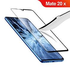 Film Protection Protecteur d'Ecran Verre Trempe Integrale F02 pour Huawei Mate 20 X Noir
