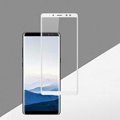Film Protection Protecteur d'Ecran Verre Trempe Integrale F02 pour Samsung Galaxy A8 (2018) A530F Blanc