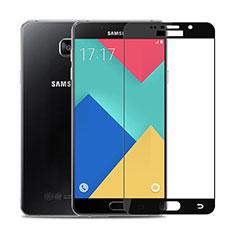 Film Protection Protecteur d'Ecran Verre Trempe Integrale F02 pour Samsung Galaxy A9 Pro (2016) SM-A9100 Noir