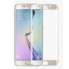 Film Protection Protecteur d'Ecran Verre Trempe Integrale F02 pour Samsung Galaxy S6 Edge SM-G925 Blanc