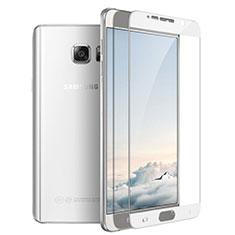 Film Protection Protecteur d'Ecran Verre Trempe Integrale F03 pour Samsung Galaxy Note 5 N9200 N920 N920F Blanc