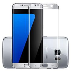 Film Protection Protecteur d'Ecran Verre Trempe Integrale F03 pour Samsung Galaxy S7 Edge G935F Argent